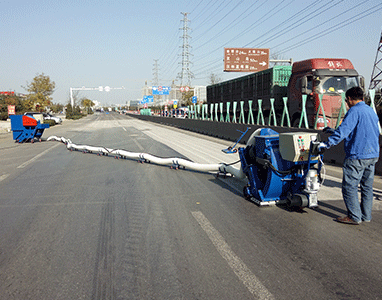 Movable Road Surface Shot Blasting Machine, Marking Line Removal Shot Blaster
