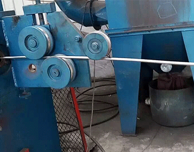 Wire Rods and Coils Shot Blasting Machine