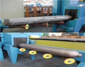 Steel Pipe Inner and Outer Surface Shot Blasting Machine