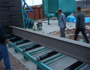Roller Conveyor Shot Blasting Machine for Steel Plates
