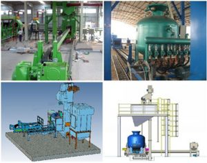 airless shot blast cleaning machine for pipe