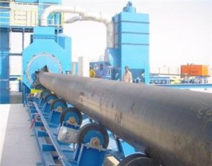 pipe shot blasting machine