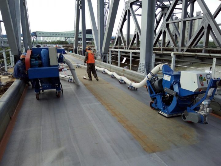 Movable Road Surface Shot Blasting Machine