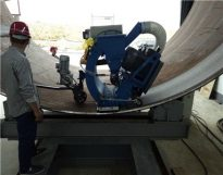 STEEL PLATES SHOT BLASTING MACHINE